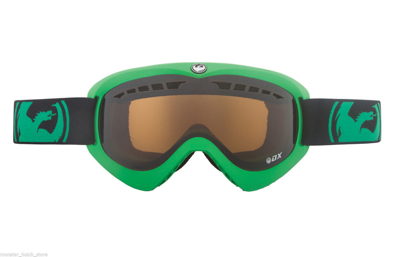 Dragon Alliance DX GREEN JET LENS Snowboard Ski Goggle BONUS LENS