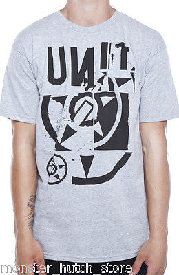 Unit Riders MX CRACKED Tee Shirt
