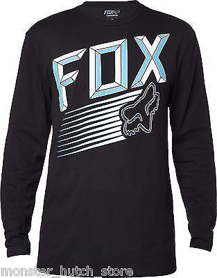Fox Head Racing EFFICIENCY LS Tee Shirt BLACK