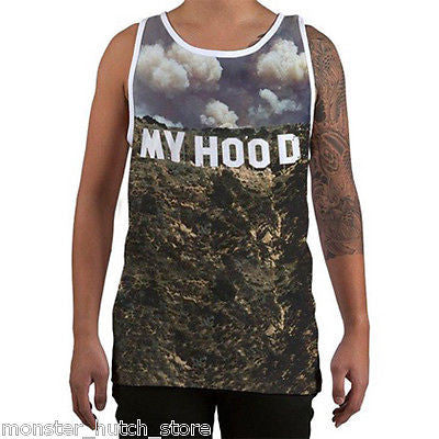Famous Stars & Straps HOOD HILLS Tank Top WHITE