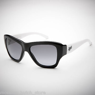 Fox Racing Sunglasses GU GU Black/White Black/Grey Lens