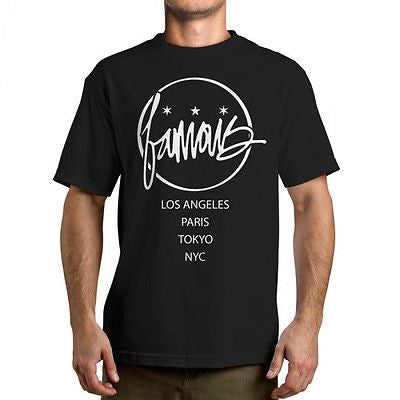 Famous Stars & Straps ALL POINTS Tee Shirt