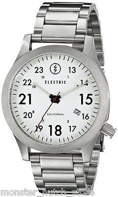 Electric California FW01 SS Wrist Watch WHITE LIMITED RELEASE