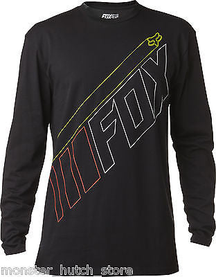 FOX HEAD RACING MEAK LS TEE SHIRT BLACK