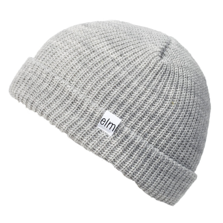 NEW WITH TAGS Elm Company Youth Kids SAPLINGS STANDARD Beanie GREY LIMITED RARE