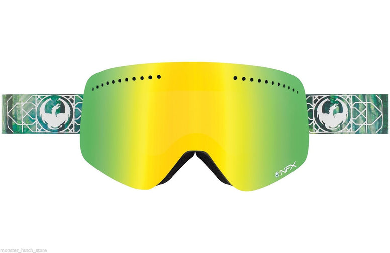 NEW BOX Dragon Alliance NFX DENSE SMOKE/GOLD + BONUS LENS Snowboard Ski Goggle