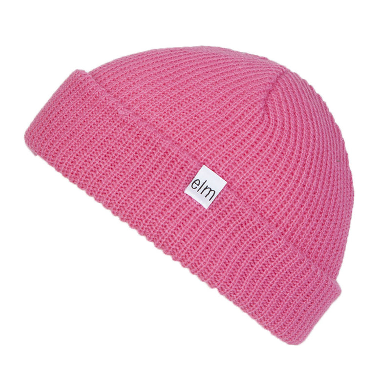 NEW WITH TAGS Elm Company Youth Kids SAPLINGS STANDARD Beanie PINK LIMITED RARE