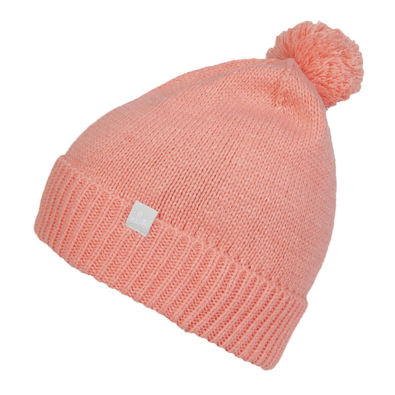 BRAND NEW WITH TAGS Elm Company Womens ELLA Beanie PEACH LIMITED EDITION RARE
