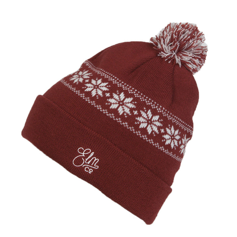 NEW WITH TAGS Elm Company Unisex EVOL Beanie CARDINAL LIMITED RELEASE EDITION