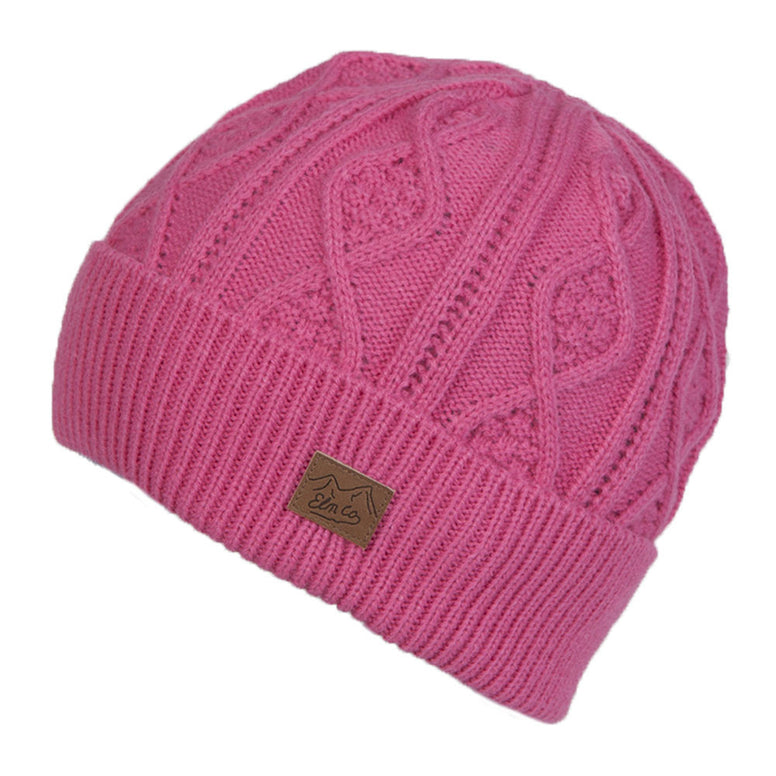 BRAND NEW WITH TAGS Elm Company Womens COVEY Beanie PINK LIMITED EDITION RARE