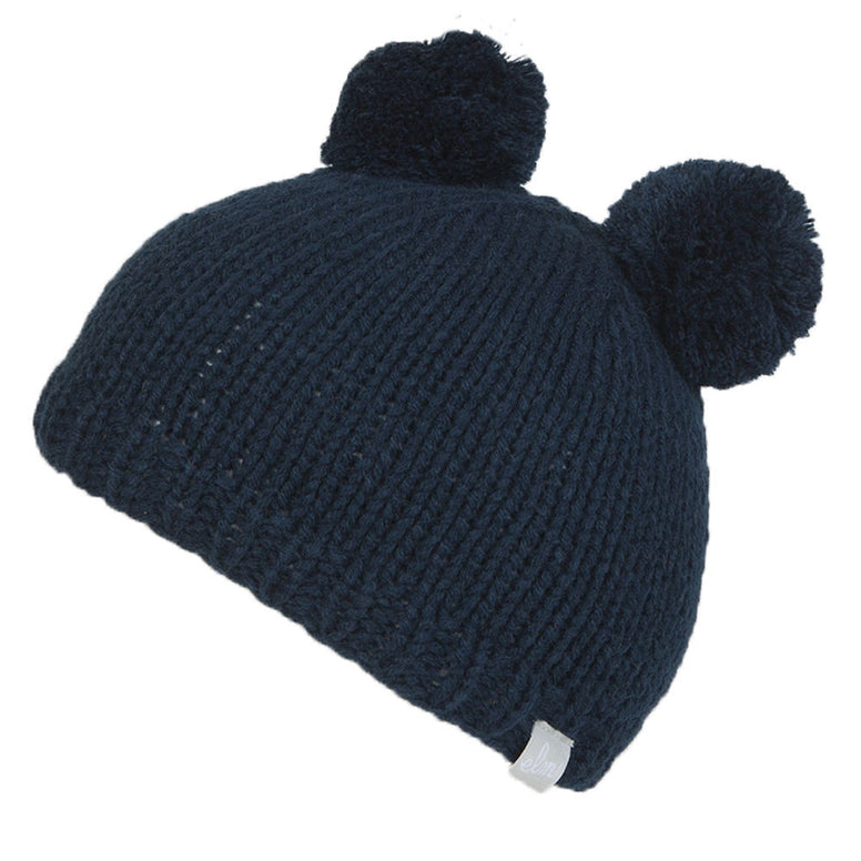NEW WITH TAGS Elm Company Youth Kids SAPLINGS YOGI Beanie NAVY BLUE LIMITED RARE