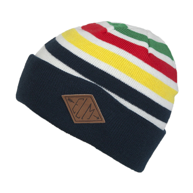 NEW WITH TAGS Elm Company Unisex MICHIGAN Beanie NAVY LIMITED RELEASE EDITION