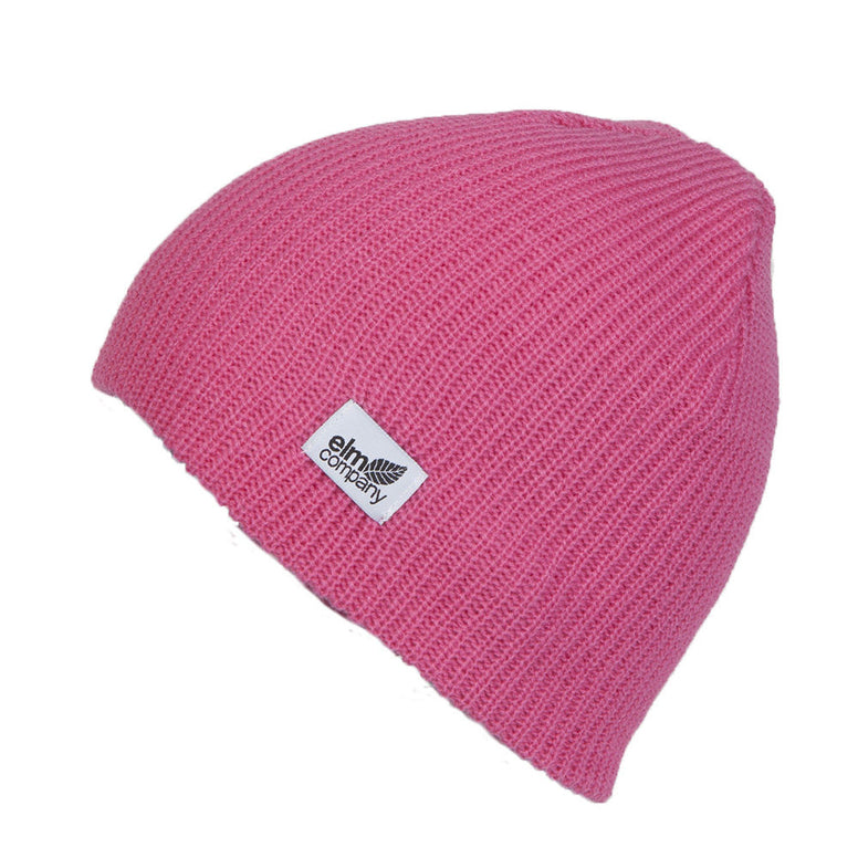 NEW WITH TAGS Elm Company Unisex CLASSIC Beanie PINK LIMITED RELEASE EDITION