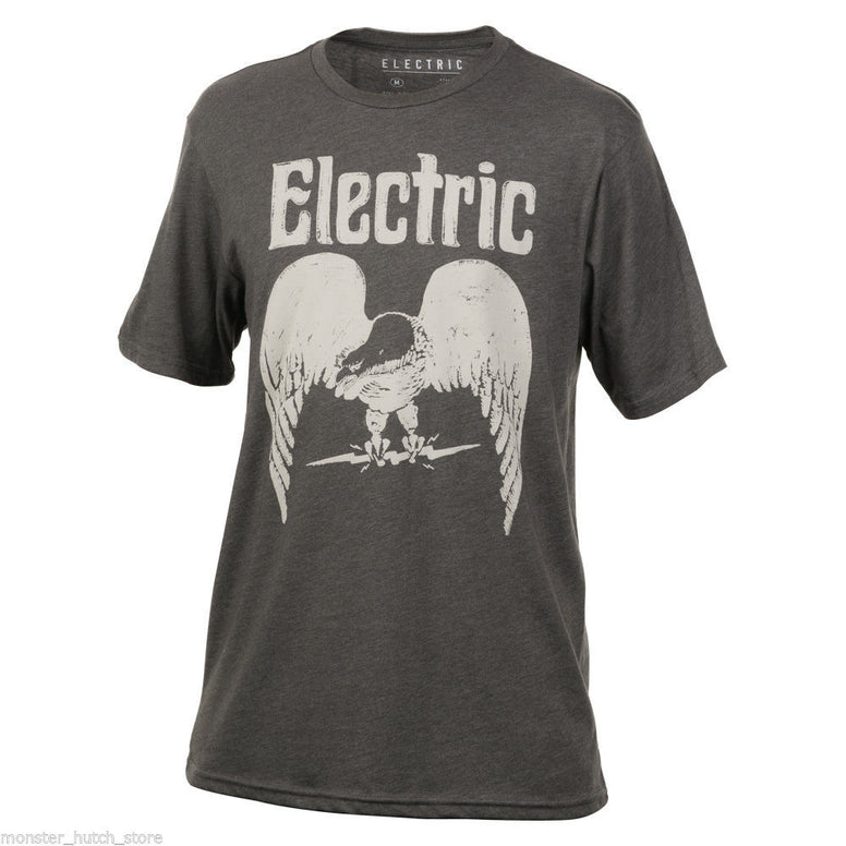 NEW W/ TAGS Electric California SLEAZY RIDER Tee Shirt MEDIUM-XLARGE CHARCOAL
