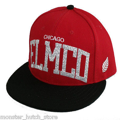 BRAND NEW W/ TAGS Elm Company CHICAGO BULLS BANNER Snap Back Hat LIMITED RELEASE