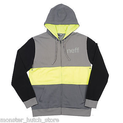 BRAND NEW WITH TAGS Neff NEOPPOLITAN Hoodie HIGHLIGHTER MEDIUM-XXLARGE LIMITED