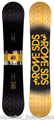 Rome SDS HEADLINE Snowboard 154cm CAMBER RARE LIMITED