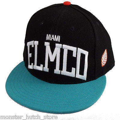 BRAND NEW W/ TAG Elm Company MIAMI DOLPHINS BANNER Snap Back Hat LIMITED RELEASE
