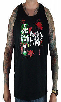 BRAND NEW Monster Hutch BLOOD SPATTER Tank Top 2XLARGE BLACK LIMITED RARE