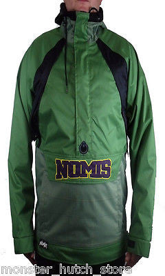 BRAND NEW W/ TAGS Nomis SIMON SAYS Pullover Snowboard Jacket GREEN LARGE LIMITED