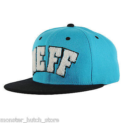 BRAND NEW WITH TAGS Neff MVP Adjustable OSFA Snap Hat CYAN/BLACK LIMITED RELEASE