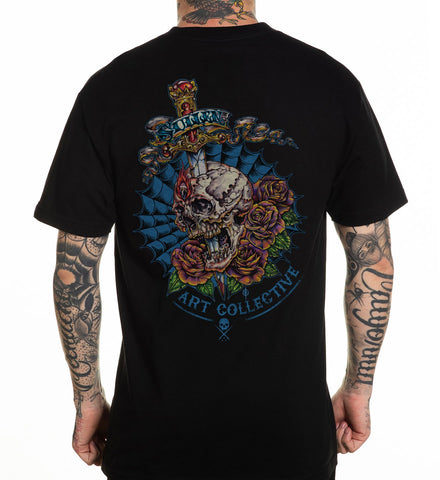 SULLEN 3RD EYE TEE SHIRT BLACK