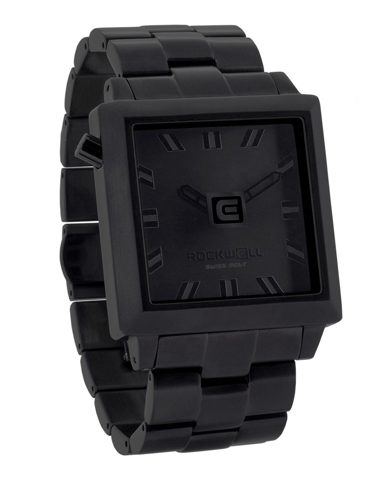 ROCKWELL THE 40mm2 WATCH PHANTOM BLACK