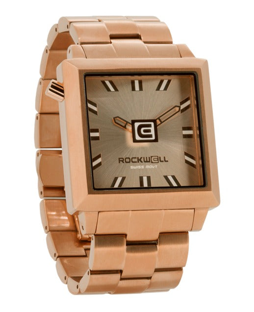 ROCKWELL THE 40mm2 WATCH ROSE GOLD