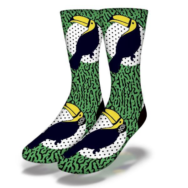 SAVVY SOX 90'S TOUCANS SOCKS