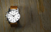 ROCKWELL THE APOLLO WATCH WHITE SILVER LEATHER