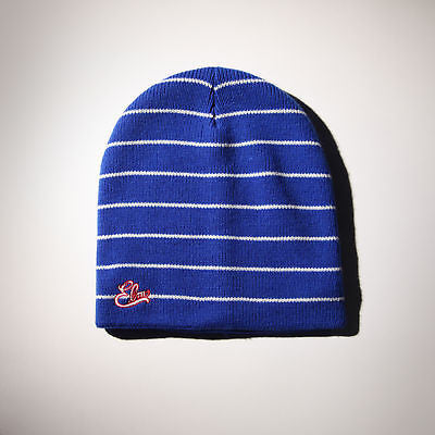 BRAND NEW WITH TAGS Elm Company SOTO CUFF OPTION Beanie BLUE RARE