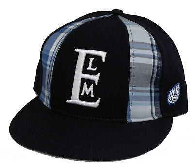Brand New With Tags Elm Company PANEL Fitted Hat Blue LIMITED RELEASE RARE
