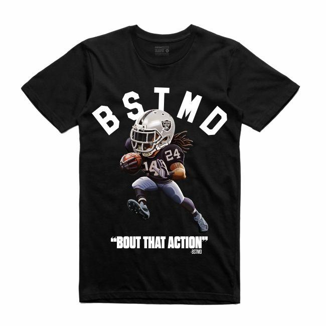 Streetwear on Demand TOONS BEASTMODE TEE BLACK