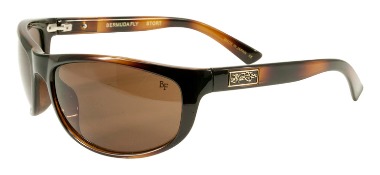 BLACK FLYS BERMUDA FLY SUNGLASSES SHINY TORTOISE