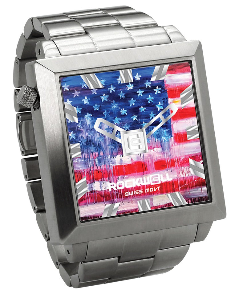 ROCKWELL THE 50mm2 WATCH JOE EVERSON FLAG