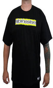 Alpinestars RECTANGLE CROP Tee Shirt BLACK