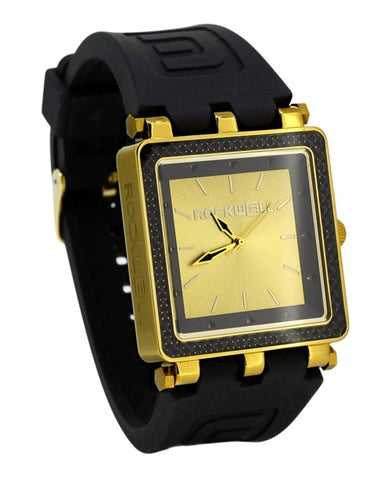 ROCKWELL THE CARBON FIBER LITE WATCH BLACK GOLD