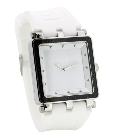 ROCKWELL THE CARBON FIBER LITE WATCH WHITE SILVER
