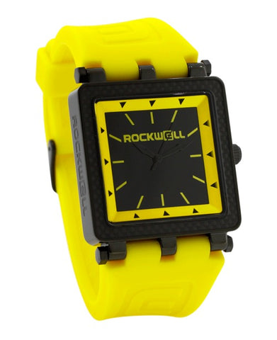 ROCKWELL THE CARBON FIBER LITE WATCH YELLOW BLACK