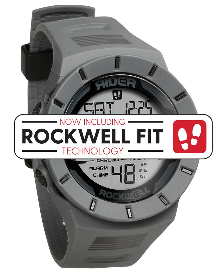 ROCKWELL THE COLISEUM FIT WATCH FREEDOM FLAG GREY