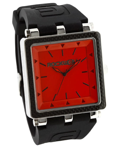 ROCKWELL THE CARBON FIBER WATCH BLACK RED