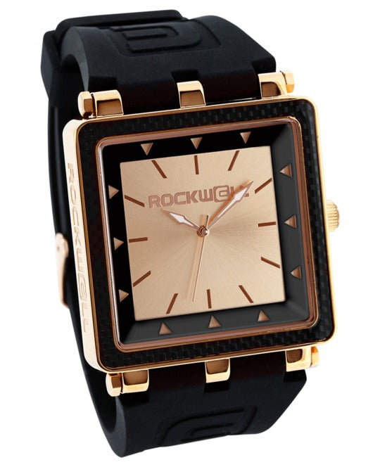 ROCKWELL THE CARBON FIBER WATCH ROSE GOLD