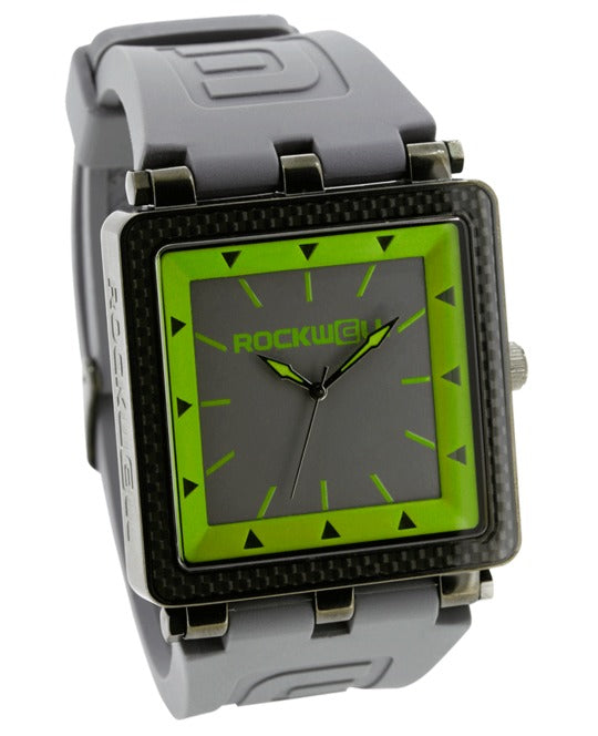 ROCKWELL THE CARBON FIBER WATCH GRAY GREEN