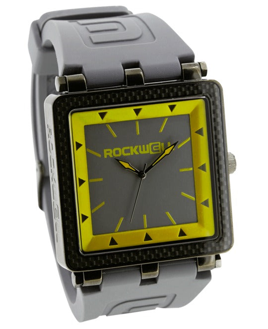 ROCKWELL THE CARBON FIBER WATCH GRAY YELLOW