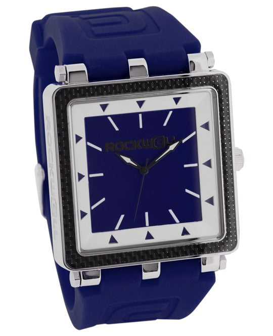 ROCKWELL THE CARBON FIBER WATCH NAVY BLUE WHITE