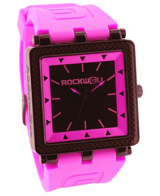 ROCKWELL THE CARBON FIBER WATCH PINK BLACK
