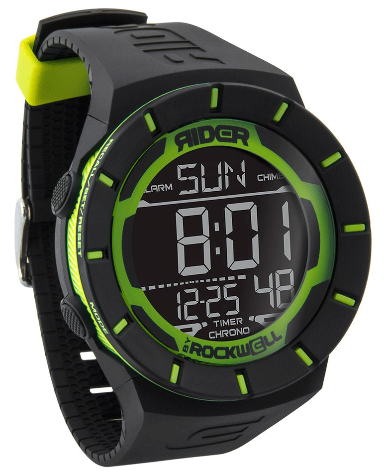 ROCKWELL THE COLISEUM WATCH BLACK GREEN