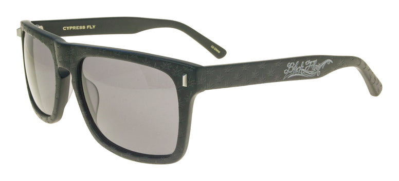 BLACK FLYS x CYPRESS HILL SUNGLASSES SHINY BLACK