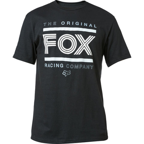 Fox Head Racing FOX ORIGINAL Tee Shirt BLACK