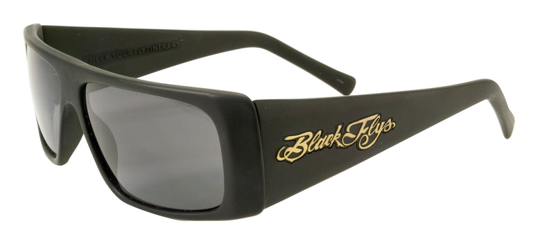 BLACK FLYS FLY STRAIGHT SUNGLASSES MATTE BLACK